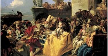 giandomenico tiepolo 1727-1804 cena de carnaval