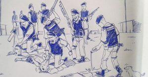 reconstituição Latuff