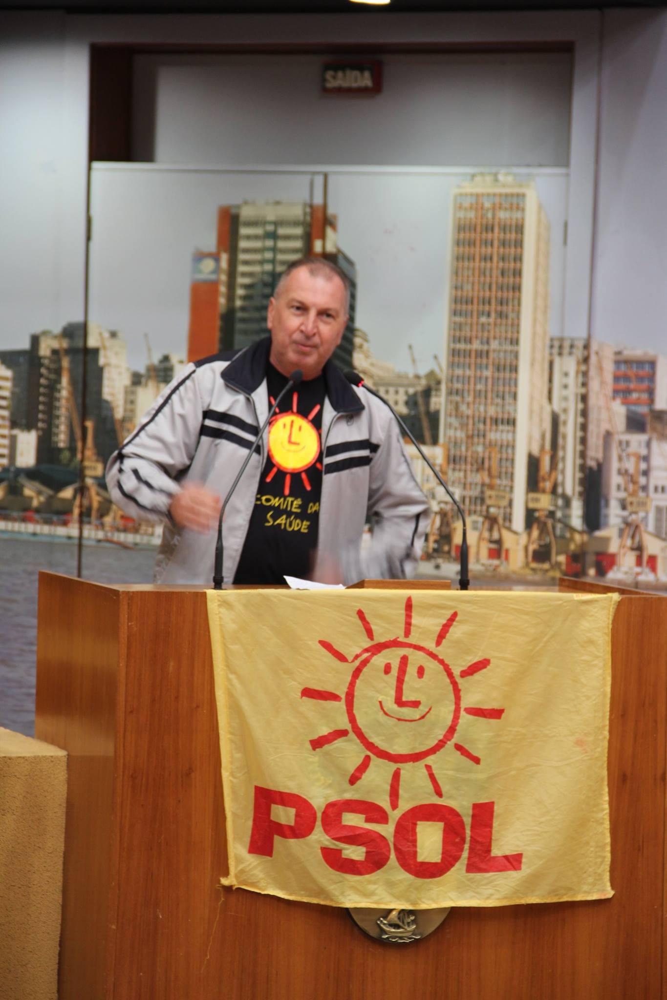 Arlindo Ritter (MES), presidente do SindisaúdeRS