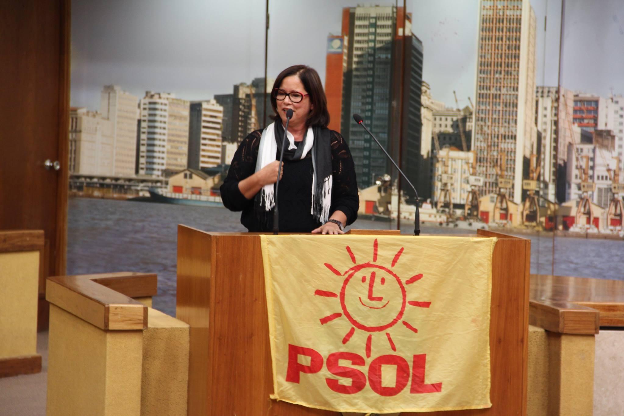 Neida Oliveira da Construção Socialista (CS)
