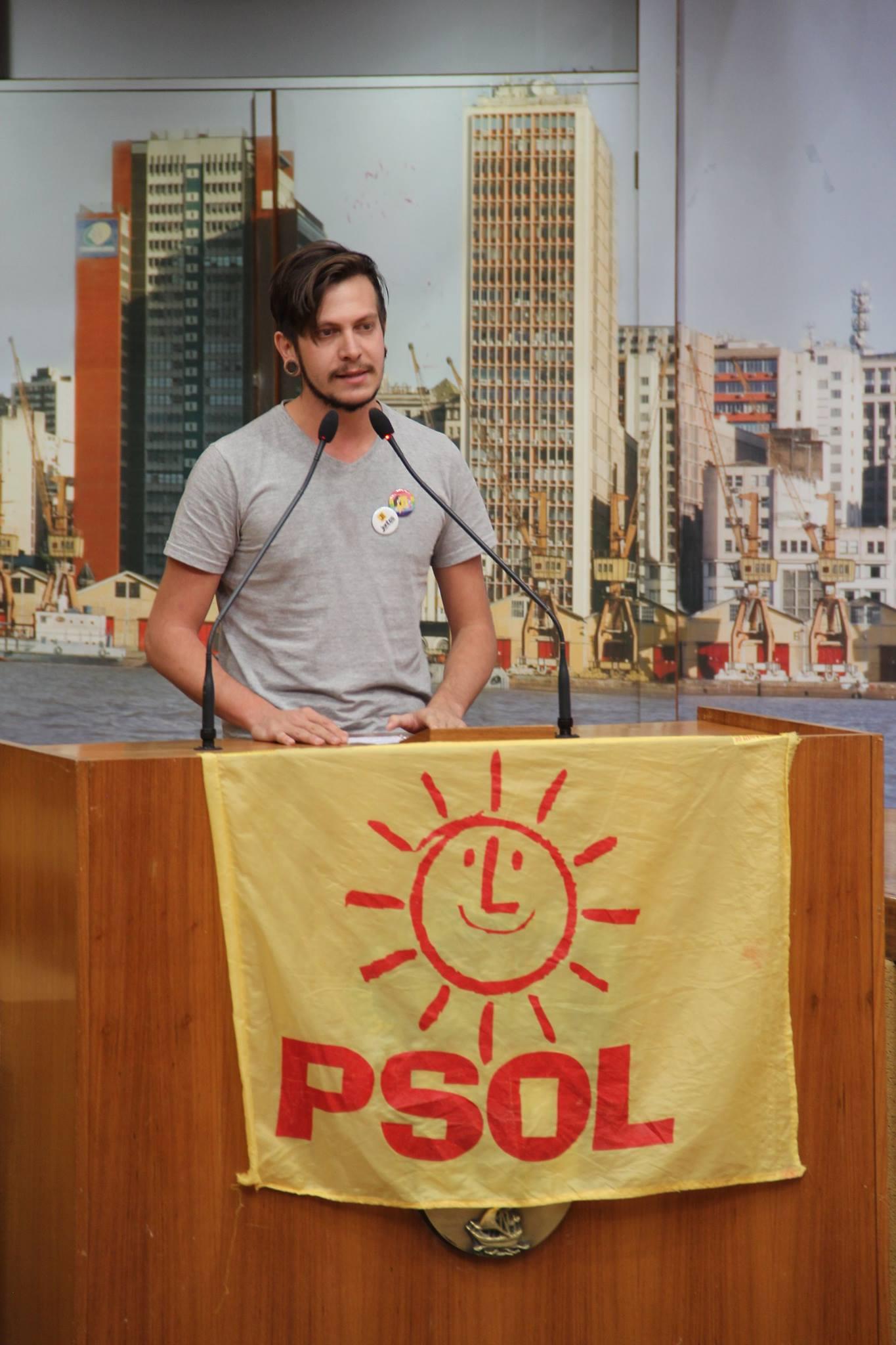 Rodrigo Rosa fala sobre a luta LGBT