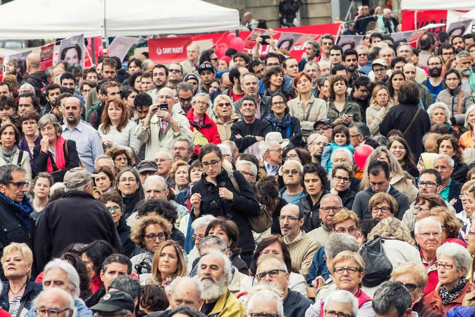 Barcelona en Comú_comício