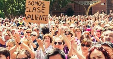Barcelona en Comú_somos clase valiente