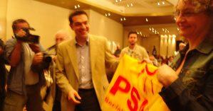 Luciana e Tsipras