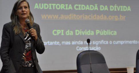 Resultado de imagem para Maria Lucia Fattorelli deputada Federal pelo PSOL