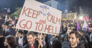 Troika keep calm e go to hell