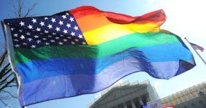 Bandeira EUA LGBT