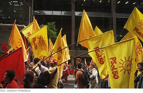 Psol-bandeiras