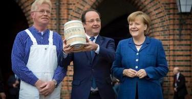 Hollande, Merkel e o arenque