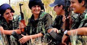 mulheres de Kobani