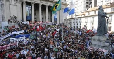 Rio de janeiro greve servidores
