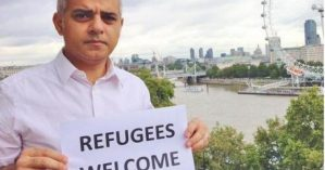 Sadiq-Khan-refugees-welcome