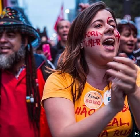 Sâmia Bonfim, vereadora feminista de São Paulo