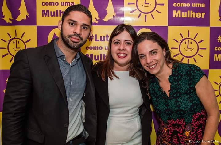 David Miranda (RJ), Sâmia Bonfim (SP), Fernanda Melchionna (RS), jovens vereadores do PSOL